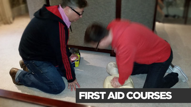first aid training courses east midlands